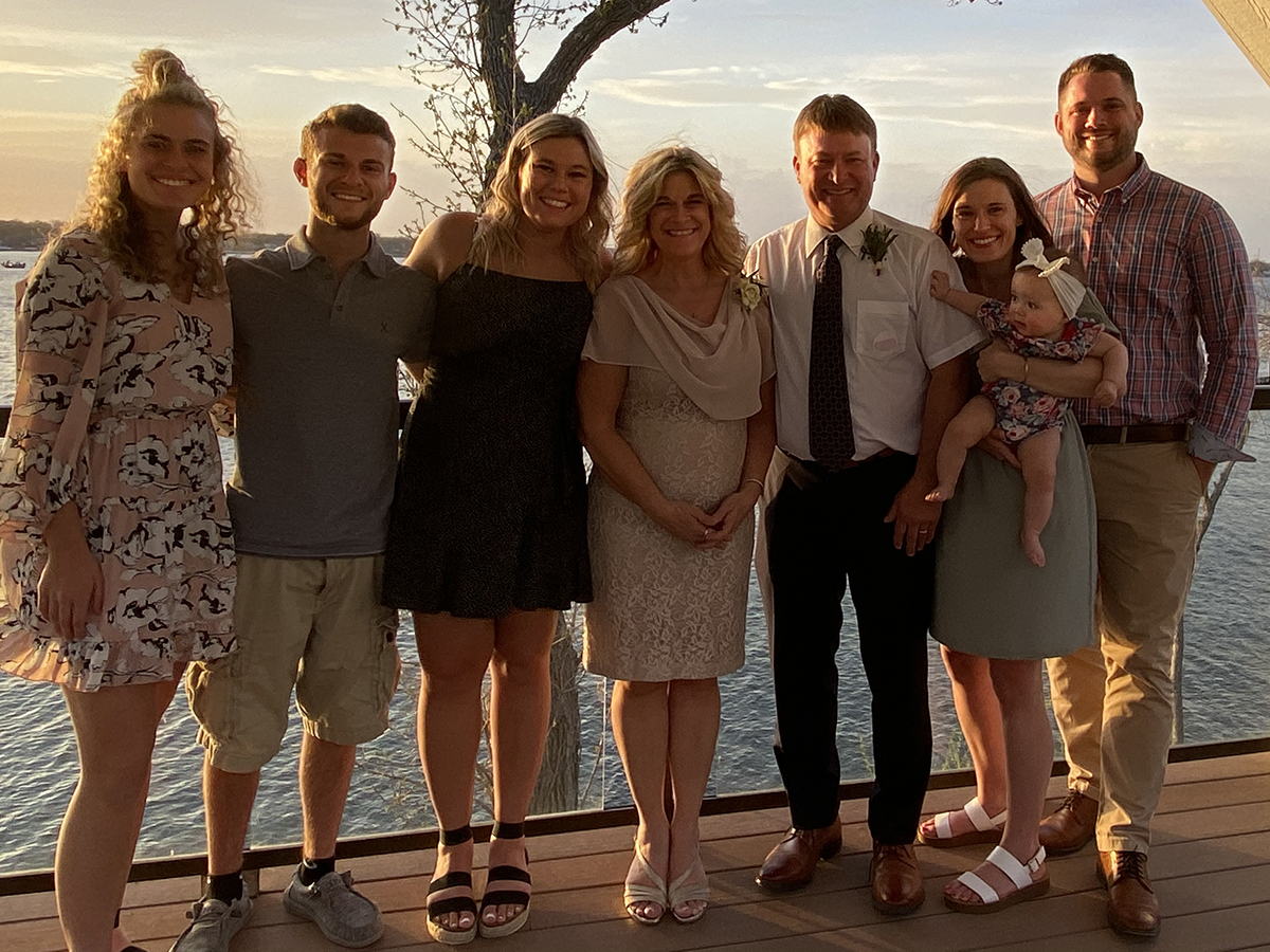 Rachelle Winsor-Timmerman and her family